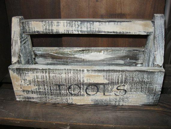 Primitive Wood tool box $18.99