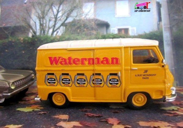 PRODUCTION 1998 Renault Estafette encre Waterman, modèle sorti pour le centenaire Renault (1898-1998) en éditon limitée à 2500 exemplaires, échelle 1/43, made in Portugal, réf: 77 11 149 081.   4CV R4 R5 R6 R7 R8 R9 R10 R11 R12 R14 R15 R16 R17 R18 R19...