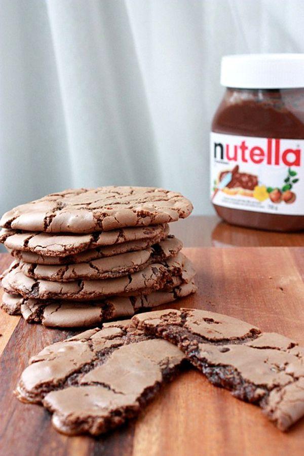 Cookies au Nutella.