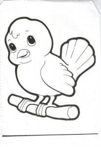 preschool bird coloring pages - photo#15
