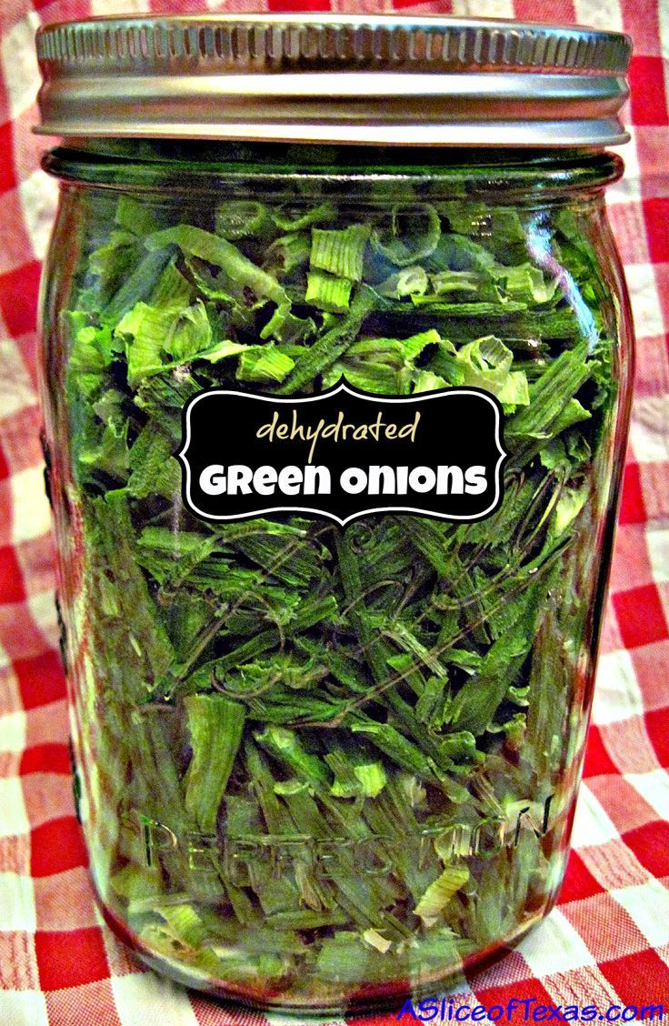Preserving green onions for long term food storage! So delicious!