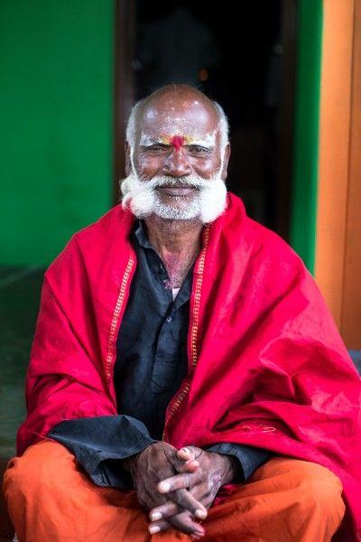 temple priest from Chittenalli, Kodagu