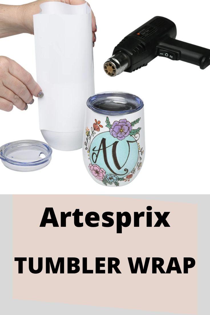 Artesprix Tumbler Wrap in 2020 Tumbler, Bottle, Water bottle