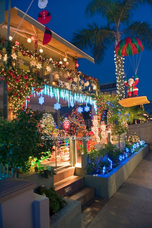 Christmas decorations on the canals of Naples (Long Beach), CA. It was our family tradition for years to walk along both sides of the canals to see the gorgeous homes with their elaborate decorations. Great memories...