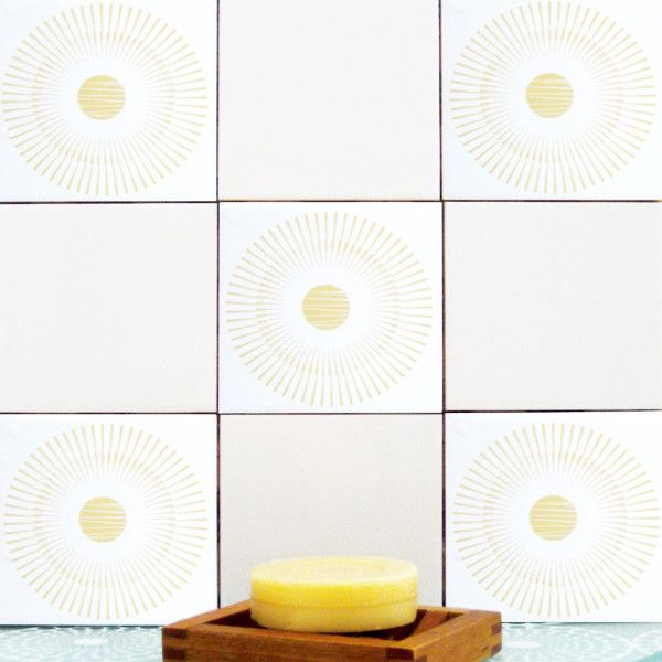 Loverstone Yellow Tilerental Kitchenbrown