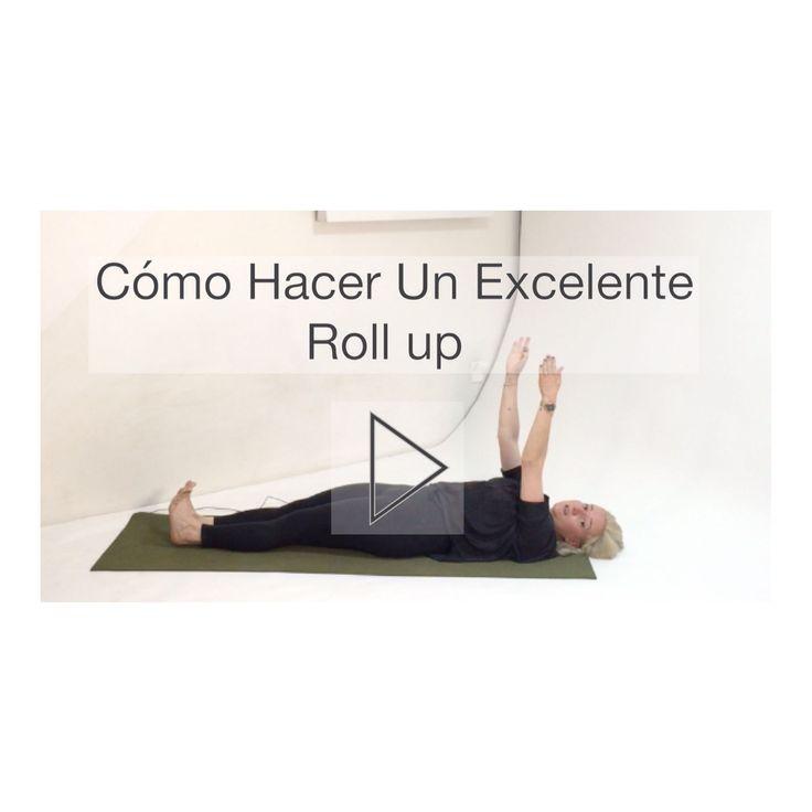 El Roll Up es uno de los ejercicios fundamentales de Pilates!  En éste maravilloso ejercicio desarrollas la conciencia de la articulación de tu columna vértebra por vértebra mediante la retroalimentación tactil que te proporciona el piso e integras la fuerza de la flexión de columna con la de la cadera.  El fortalecimiento muscular y la secuenciación que se trabaja en el Roll Up es la base para ejercicios más avanzados como el Teaser Roll Over Jack Knife Corkscrew y Boomerang.  Conoce TODOS…