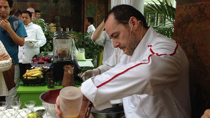 Chef Christian Jean, presentación del nuevo concepto de Coffee Break en el Grand Tikal Futura Hotel. Experiencia Nuchef. Fotografía y texto por Brenda Cervantes.