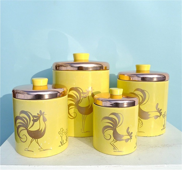 Best 25+ Vintage Canisters Ideas On Pinterest