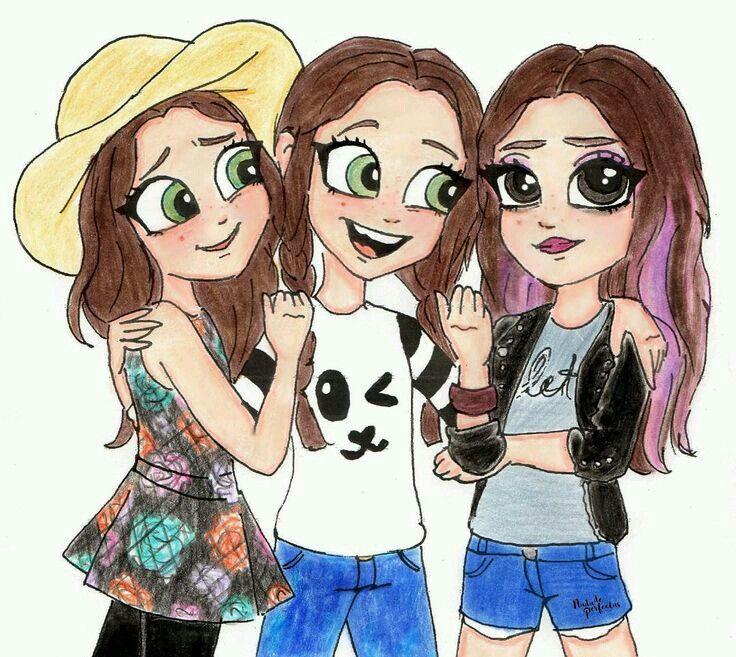 Las tres hermanas!