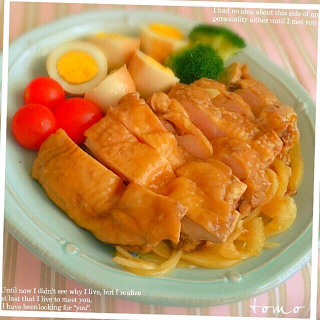 とも's dish photo 鶏肉の紅茶煮 | http://snapdish.co #SnapDish #レシピ #簡単料理 #おつまみ #肉料理
