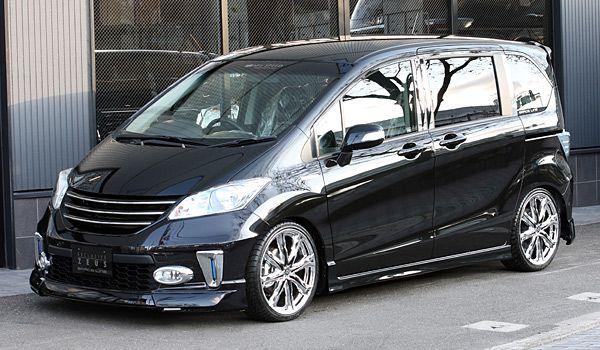 Honda Freed mzspeed aerokit