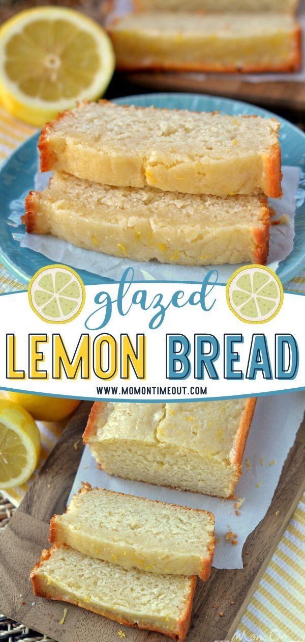 Easy Lemon Bread In 2020 Lemon Dessert Recipes Citrus Recipes Easy Lemon Bread
