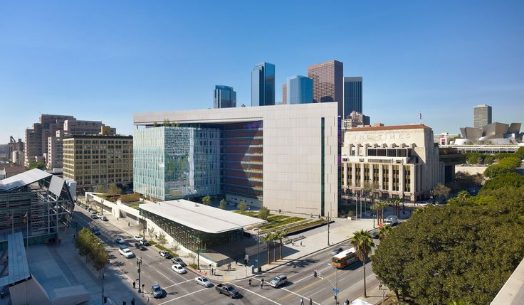 Los Angeles Police Department Headquarters Facility Los