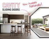 Cavity slider external aluminum doors - I want!