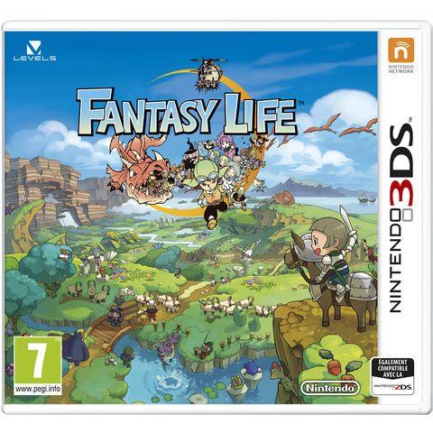 Fantasy Life 3DS, Rayon jeu vidéo, Auchan a sélectionné les produits du moment : console wii, console DS, Dsi, xbox, plastation et psp. Sans oublier le grand nombre de références de jeux disponibles pour ces consoles : nintendo, sony …. et biensur les jeux PC à découvrir et commander en ligne sur Auchan.fr
