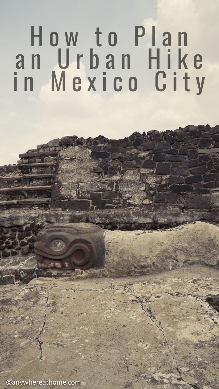There are more than 150 museums in Mexico City, find out how to plan an urban hike in Mexico City and hit a few of the Museums along the way