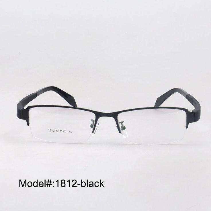 1812 half rim and comfortable wearing for men and women optical metal frame eyeglasses myopia spectacles eyewear