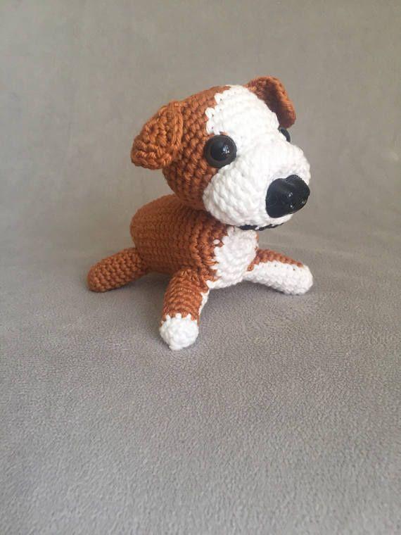 Crochet English bulldog crochet bulldog amigurumi bulldog