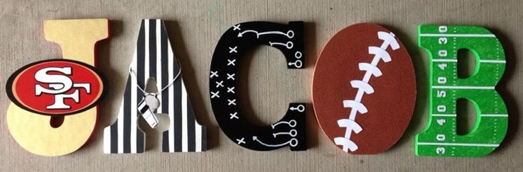 cute for boys room...but chicago bears :)