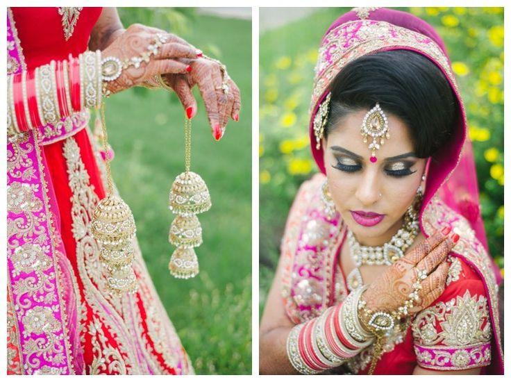 Hindu Wedding Invitations Toronto: Toronto South Asian Wedding Hindu Punjabi Sikh Bride With