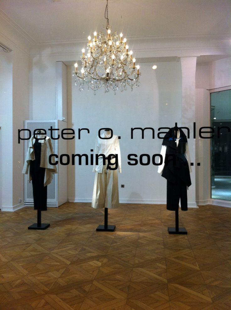 new collection by peter o. mahler is coming soon...