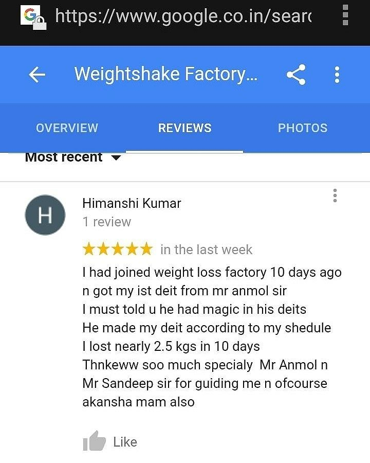 Himanshi Kumar  lost 2.5 kg in 10 days 🙆🏻♀🙆🏻♀by following our Instant Diet Programme.   https://www.instagram.com/p/BfQPhYdDJM4/