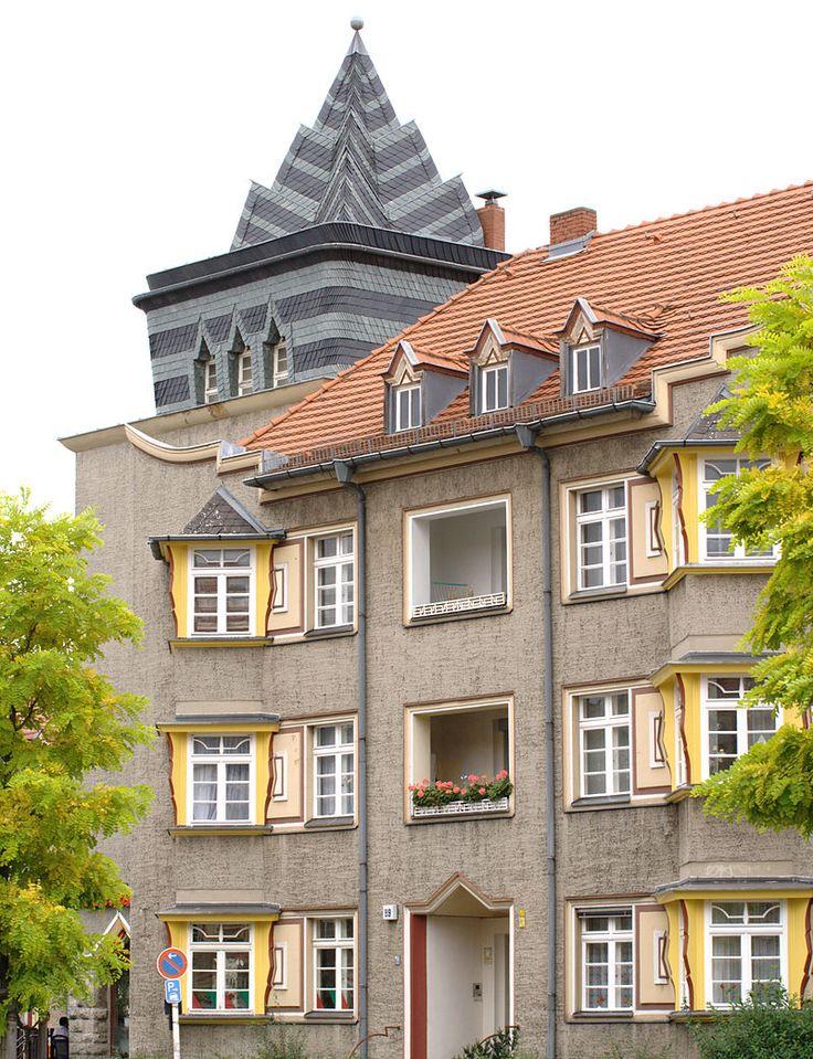 Zeppelinstraße 89 - Expressionismus (Architektur) – Wikipedia