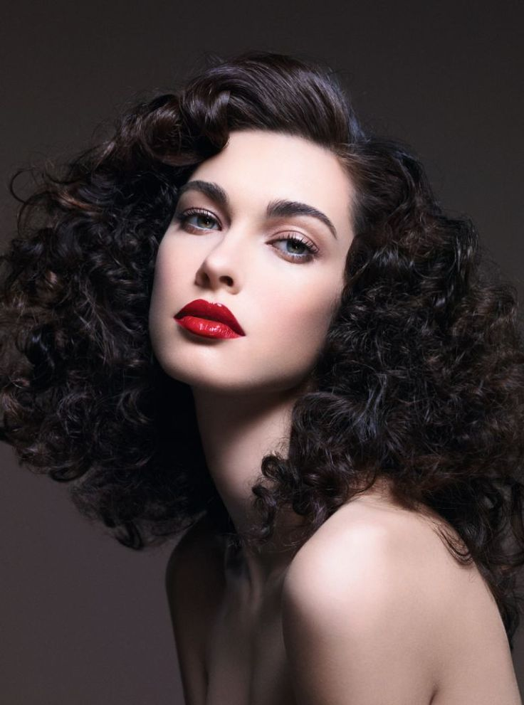 The mega-Watt Lip - create the glossy red lips and Studio 54-inspired hair that were big news on the catwalks for Autumn/Winter 2013.