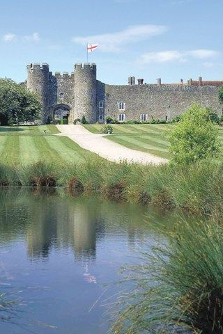 Amberley Castle, West Sussex, UK built in the 12th century as a manor house and fortified in 1377. Now a luxury hotel and one of the top 10 castle hotels in the world, a weekend here would be lovely!