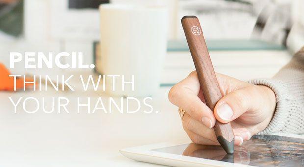 iPadアプリ『Paper』発のスタイラス『Pencil』発売、Bluetooth接続でパームリジェクション対応