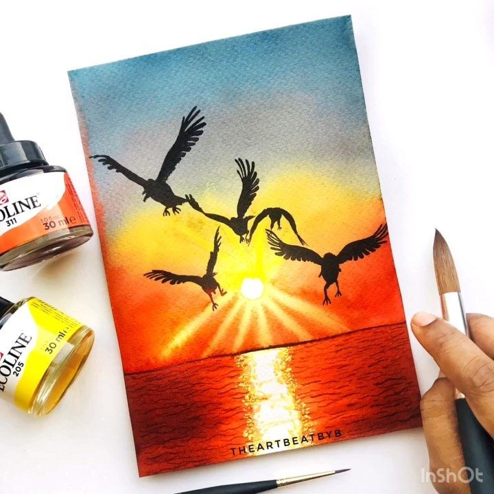 1 757 Likes 37 Comments Bincy The Art Beat By B Theartbeatbyb On Instagram Let S Go Where The Sky Meets The Ocean Art Beat Children Book Cover Art