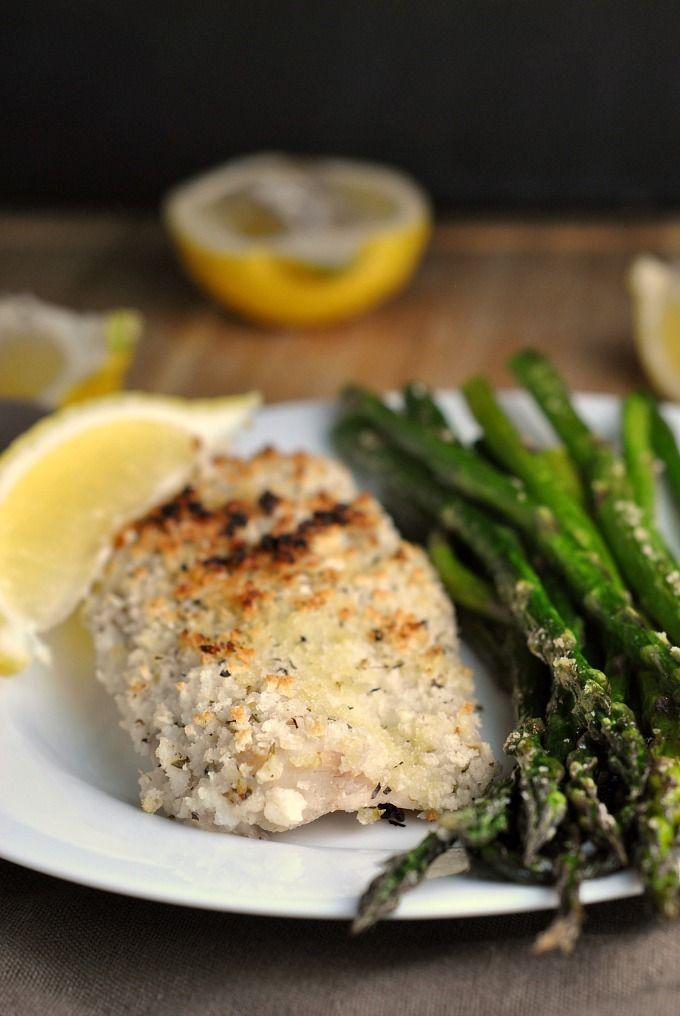 Lemon herb baked whitefish recipe makes 4 servings go for Lemon fish recipe