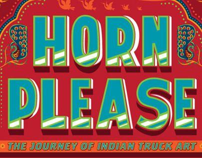 HORN PLEASE POSTER