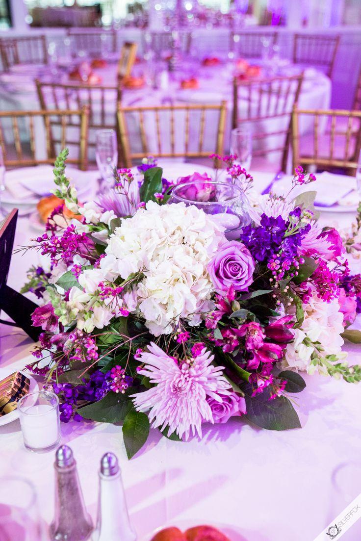 Fl Designer Simply Elegant Decorators Photo Silverfoxphoto Purple Wedding Flowerslow Centerpieces