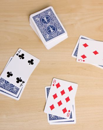 Prime number game. First to shout prime as the number is turned over takes the stack of cards.