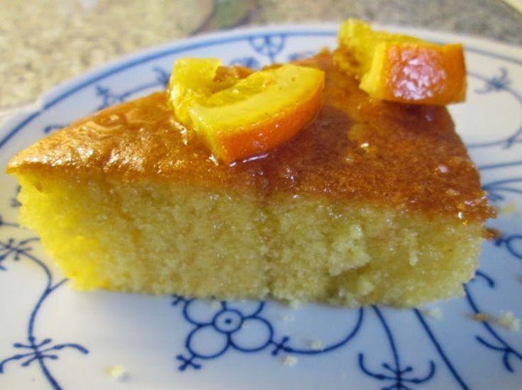 Der Geschmack von Kreta: Ravani - griechischer Grießkuchen mit Orangengeschmack