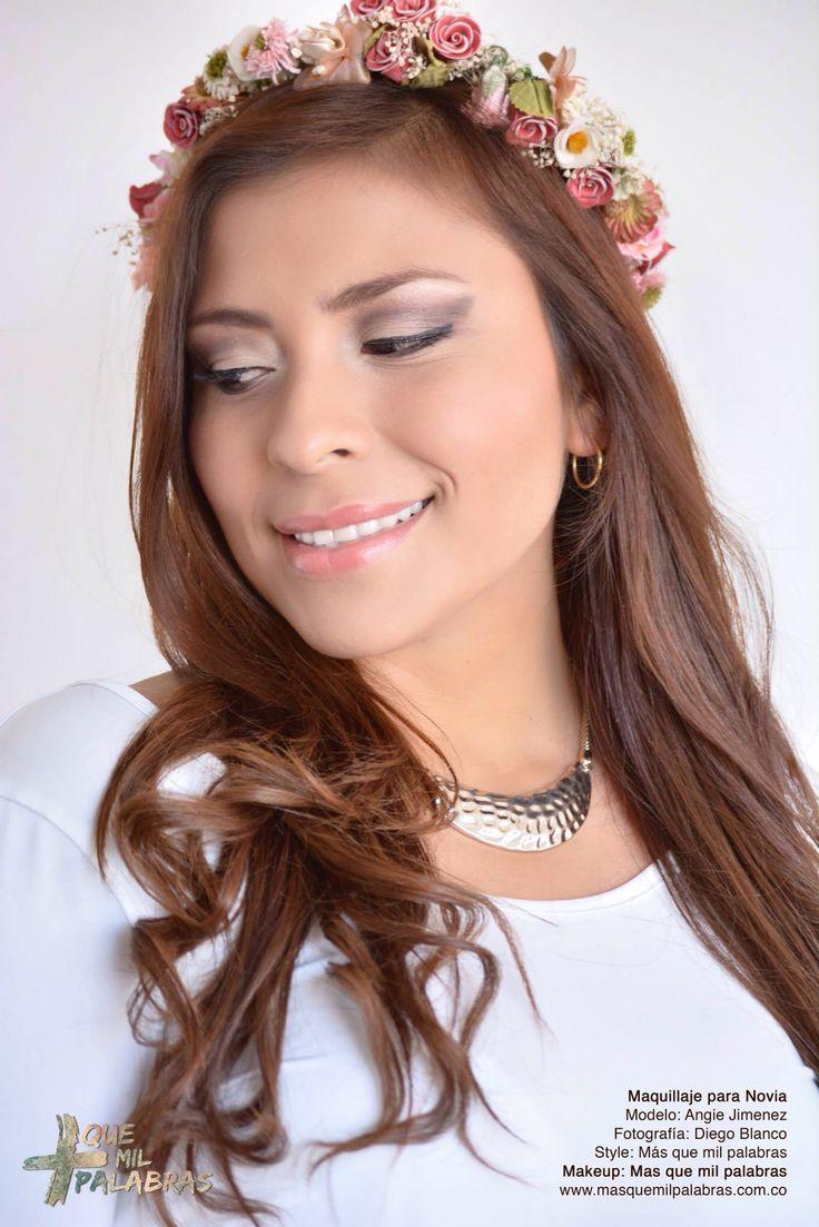 Bride, novia, makeup