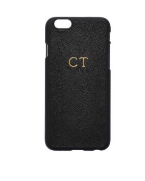 tde. The Daily Edited - monogrammed iPhone case $79.95: https://www.thedailyedited.com/black-iphone-6-iphone-6s-case# Initials EVW - Sans Serif (font) - 36pt (largest font) - initial colour Gold