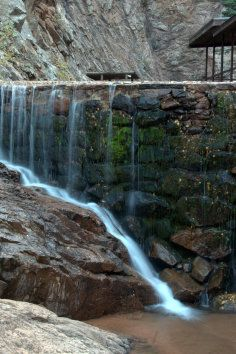 The Grandest Scenery in Colorado! The Seven Falls Colorado Springs, CO   The falls cascade 181 feet dancing from granite face to granite face in 7 distinct dips of grace and beauty.  Dive further into nature...225 steps will lead you to two grand hiking trails.