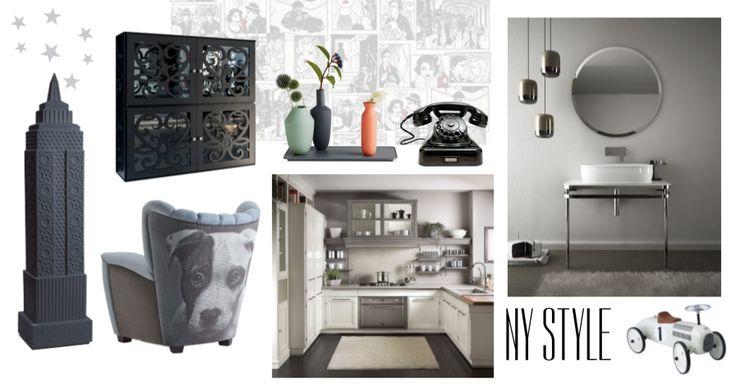 Dai un'occhiata alla moodboard che ho creato su Designbest: NY STYLE