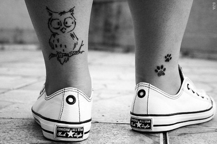 Cute Ankles Tattoos http://www.pairodicetattoos.com/cute-ankles-tattoos/