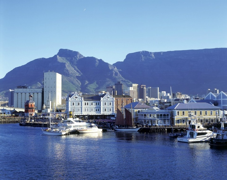 Cape Town .... portion of Table Mountain in the frame.