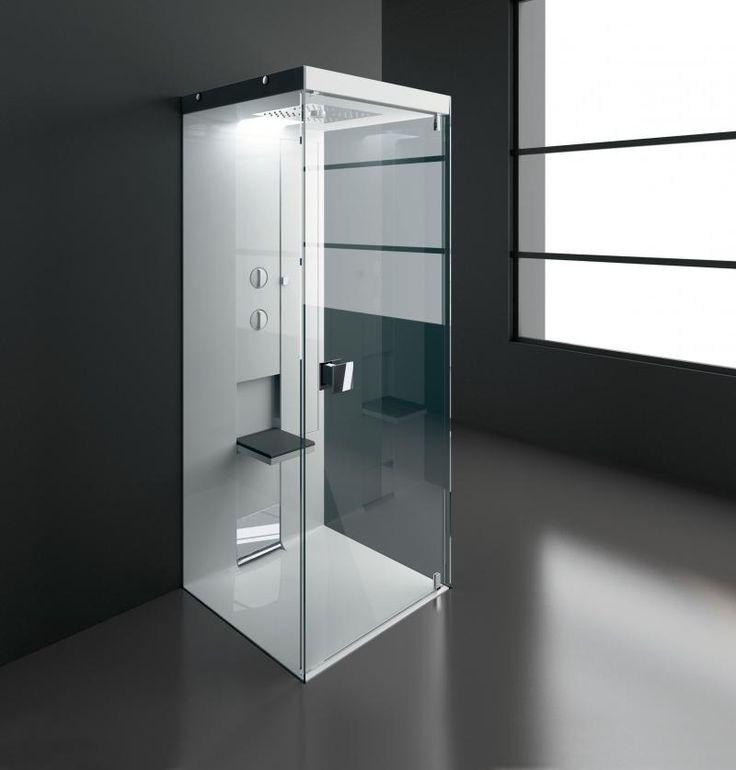 Volete cambiare la vostra doccia? Vi piacerebbe avere 'Idea Walk Trough' dell'azienda laziale Treesse? Questa doccia con cristallo temperato da 8 mm ha un piatto doccia con scarico a scomparsa e ru...