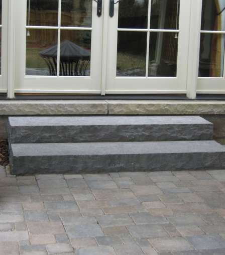 Natural Stone Steps Very Heavy But Very Attractive