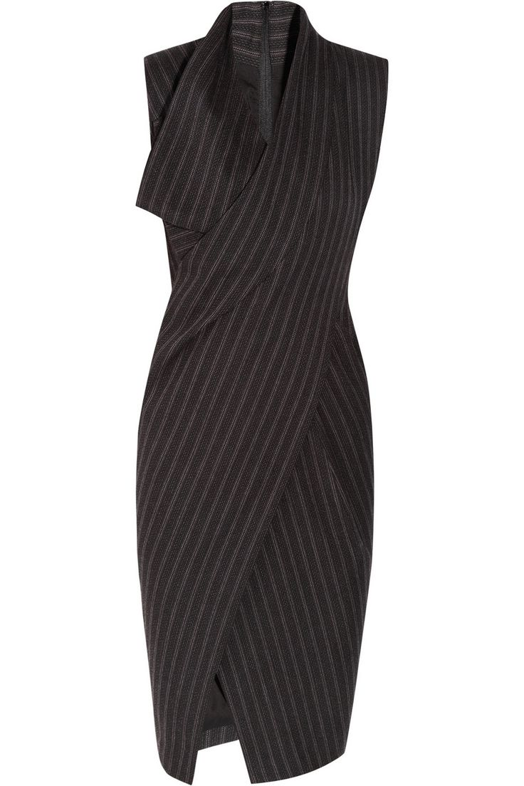 Donna Karan Origami wool-blend dress - 65% Off Now at THE OUTNET