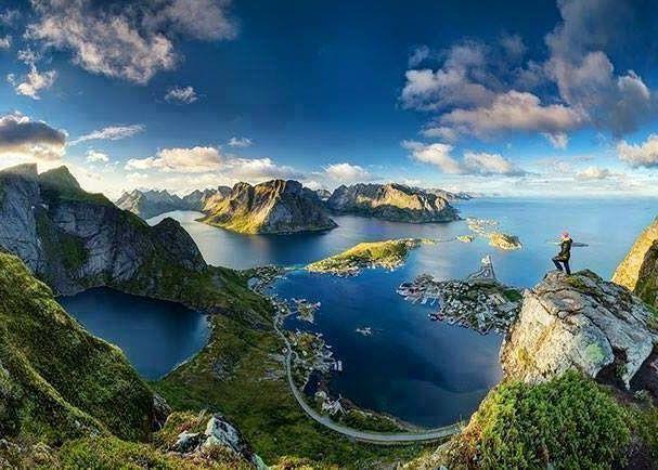 Hardangerfjord Norway Panorama