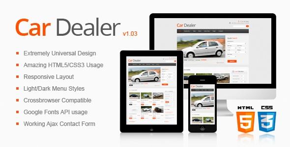 Car Dealer Responsive HTML5/CSS3 Template