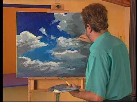 "DIBUJO Y PINTURA 11 ""Nubes"" - YouTube"