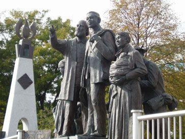 Underground Railroad Statuary and Memorial