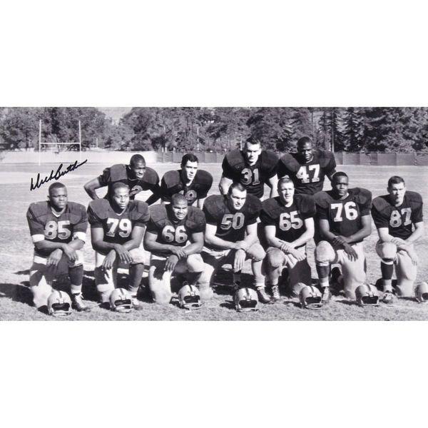 "Dick Butkus Illinois Fighting Illini Fanatics Authentic Autographed 8"" x 10"" Team Picture Photograph - $99.99"
